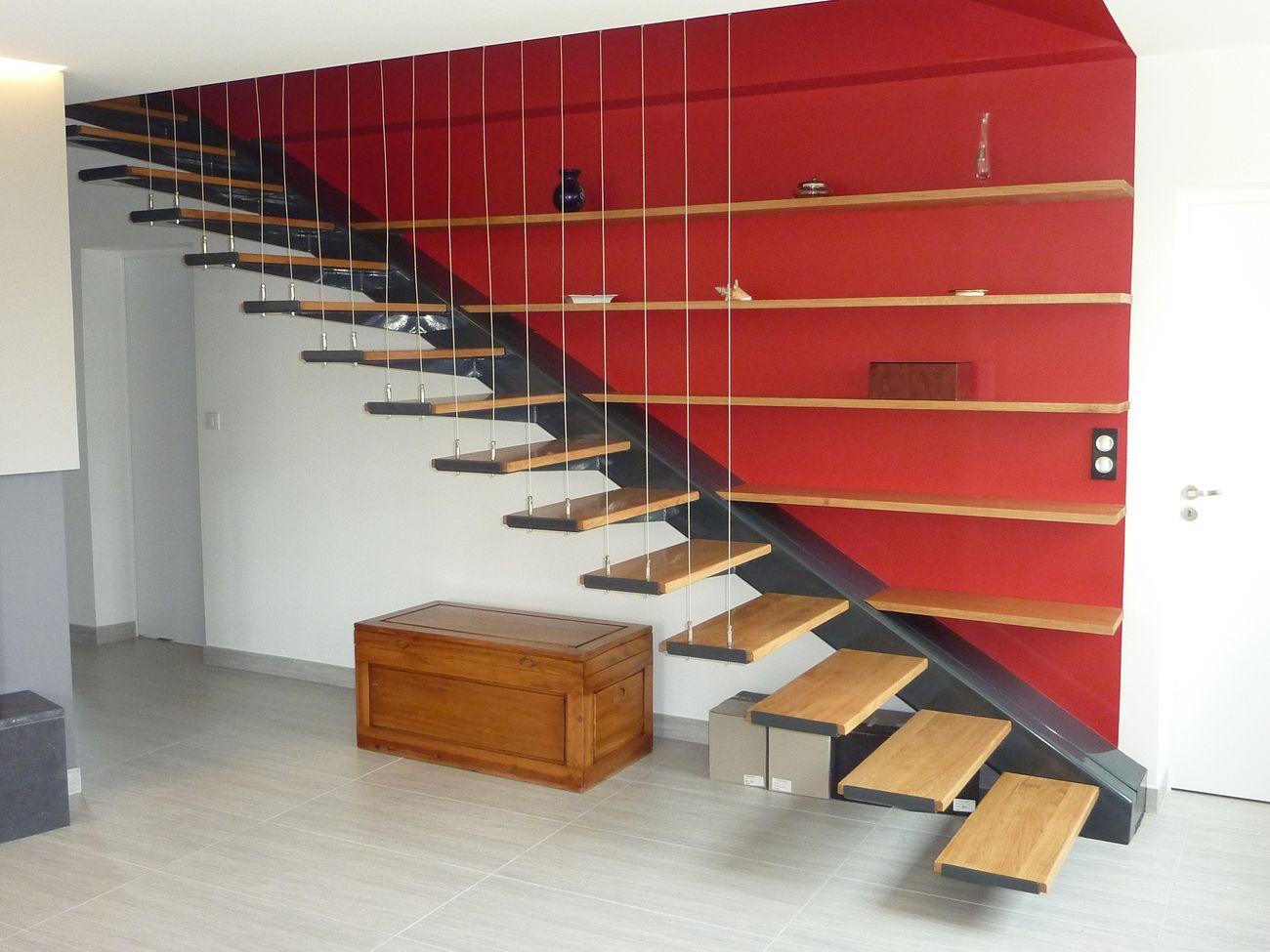 Trolard & Bernard : Escaliers Contemporains, Menuiserie en bois sur ...